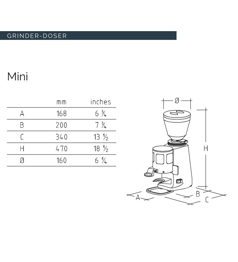 mazzer mini electronic manual pdf