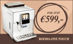Automatic Coffee machine Rooma one touch