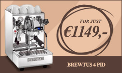 Expobar Brewtus 4 PID expobar coffee machines