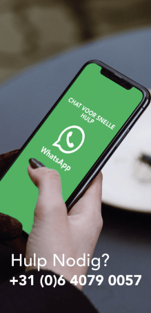 whatsapp of telegram ons voor direct contact